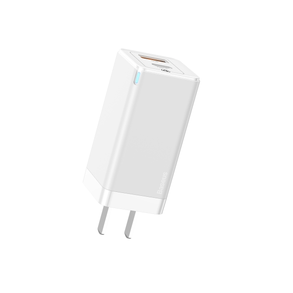 Picture of Baseus GaN2 Quick Charger C+U 45W CN White