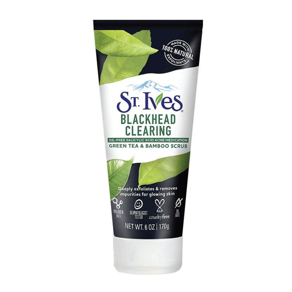 Picture of St. Ives Blackhead Clearing Green Tea Face Scrub 170gm
