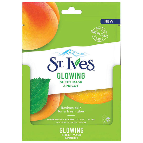 Picture of St. Ives Glowing Sheet Mask with Apricot 23ml
