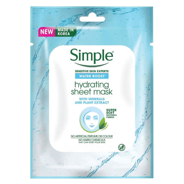 Picture of Simple Water Boost Hydrating Sheet Mask 23ml