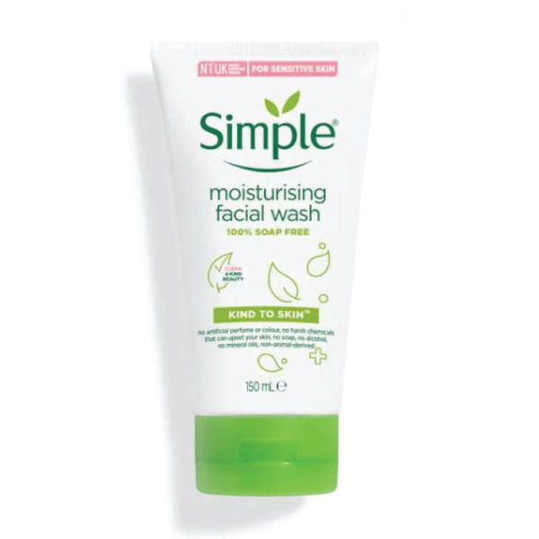 Picture of Simple Kind to Skin Moisturising Face Wash 150ml