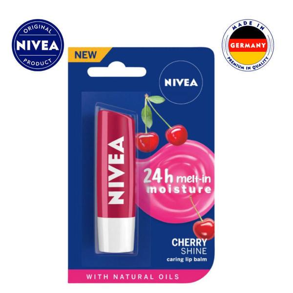 Picture of NIVEA Caring Lip Balm Cherry Shine 4.8gm