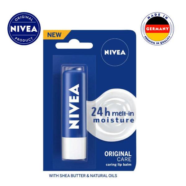 Picture of NIVEA Caring Lip Balm Original Care 4.8gm