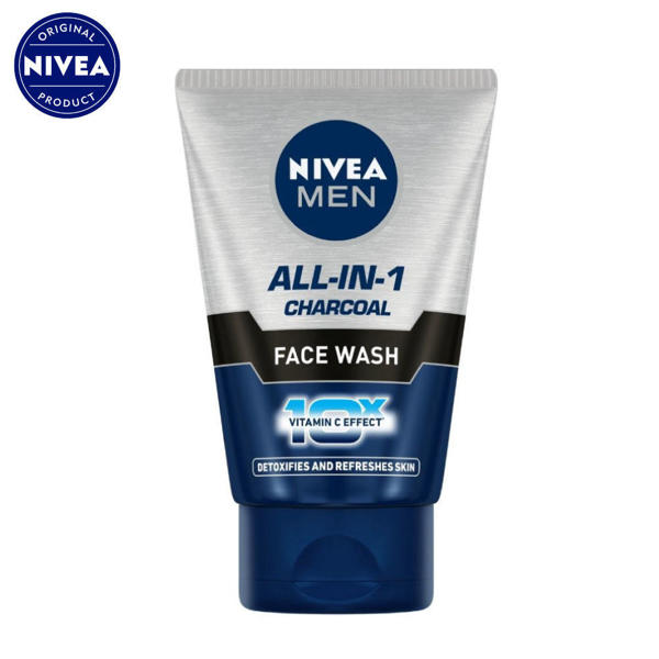 Picture of NIVEA MEN All-in-1 Charcoal Face Wash 100gm