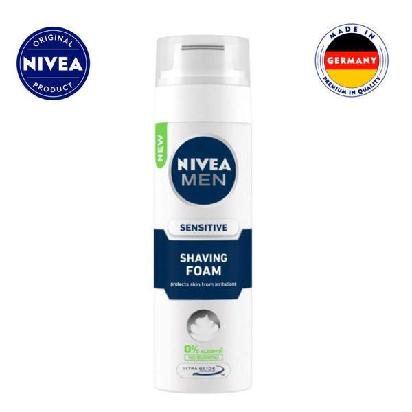 Picture of NIVEA MEN Sensitive Shaving Foam 200ml